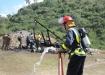 Dos heridos por explosión en unidad de pirotecnia en Zaza del Medio. -Fuerzas combinadas del Ministerio del Interior investigan las causas del accidente.