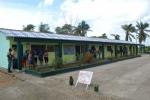 Aires de recuperación. La escuela primaria Boris Luis Santa Coloma, de la comunidad de El Río, fue reparada con prontitud y calidad. (Foto: Luis Francisco Jacomino/ Escambray)