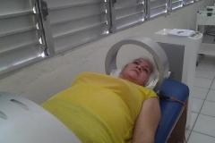 Bondades de la Medicina Física y Rehabilitación en Sancti Spíritus. Cama magnética, con efectos terapéuticos sobre el sistema osteoarticular y los músculos.