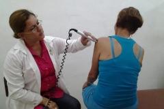 Bondades de la Medicina Física y Rehabilitación en Sancti Spíritus. El láser tiene efecto analgésico, antinflamatorio y cicatrizante, sostienen los especialistas.
