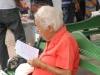 Capítulo espirituano de la Feria del Libro. Hasta los ancianos salen de casa en busca de su literatura preferida.