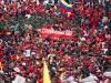 Autoridades de Latinoamérica presentes en acto de solidaridad con Chávez. Autoridades latinoamericanas y del Caribe ratificaron ante el pueblo la solidaridad con el gobierno de esta nación y su presidente Hugo Chávez, reelecto el 7 de octubre último.
