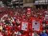 Autoridades de Latinoamérica presentes en acto de solidaridad con Chávez. El presidente venezolano, Hugo Chávez, se ha multiplicado en su pueblo y hoy está presente en miles de personas.