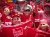 Autoridades de Latinoamérica presentes en acto de solidaridad con Chávez. Seguidos del presidente Chávez se concentraron para alzar las voces en solidaridad y apoyo al mandatario reelecto en los comicios del pasado 7 de octubre.