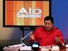 Chávez, una vida dedicada a la lucha por el pueblo. Chávez graba una edición de su programa de televisión 'Aló Presidente'.