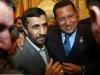 Chávez, una vida dedicada a la lucha por el pueblo. Chávez con su homólogo iraní, Mahmoud Ahmadineyad, durante la ceremonia de clausura de la cumbre de la OPEP en Riad.