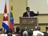 Colaboración entre dos pueblos hermanos. Maduro subrayó la solidaridad que en materia de salud y educación ha prestado Cuba a lo largo de estos 14 años de Revolución Bolivariana.