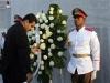 Colaboración entre dos pueblos hermanos. Maduro colocó una ofrenda floral en el monumento al Héroe Nacional José Martí en la Plaza de la Revolución.