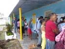 Democracia en las urnas. En el barrio Sansariq, de Yaguajay, los electores acudieron bien temprano a las urnas. (Foto: Juan A. Borrego/ Escambray)