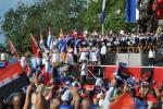 El 26 de los espirituanos. Desde la plaza Mayor General Serafín Sánchez, miles de espirituanos demostraron al mundo su lealtad a la Revolución cubana. (Foto: Reidel Gallo/ Escambray)