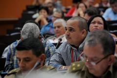 El VII Congreso del Partido. Delegados intervienen durante las sesiones de trabajo del VII Congreso del PCC.