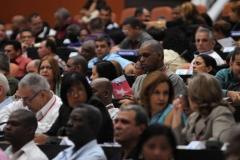 El VII Congreso del Partido. A la cita partidita asisten casi un millar de delegados y 280 invitados.