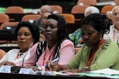 El VII Congreso del Partido. El papel de la mujer en las transformaciones de la sociedad cubana centró la atención en los debates del Congreso.