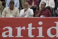 El VII Congreso del Partido. Los cinco Héroes cubanos, presentes en el VII Congreso del Partido.    foto if