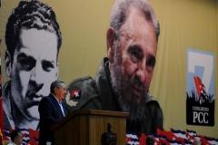 El VII Congreso del Partido. El presidente de los Consejos de Estado y de Ministros sostuvo que es la primera vez que se presenta a un Congreso del Partido el tema de la conceptualización del modelo económico y social cubano.