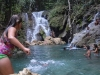 Un safari a lo cubano en las inmediaciones de Yaguajay. Además de las ofertas gastronómicas y recreativas, las aguas de Rancho Querete devienen atractivo principal para los visitantes.