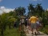 Un safari a lo cubano en las inmediaciones de Yaguajay. En el Chalé Los Álamos han recibido más de 300 turistas extranjeros en lo que va de verano a través de la opción jeep safari, un recorrido que incluye la visita al minizoológico y a los alrededores de la casona, donde les esperan varias actividades recreativas y una excelente comida criolla.