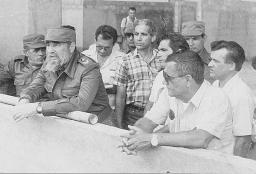 En mayo de 1989 el Comandante en Jefe constató los trabajos constructivos que se llevaban a cabo en la Autopista Nacional.