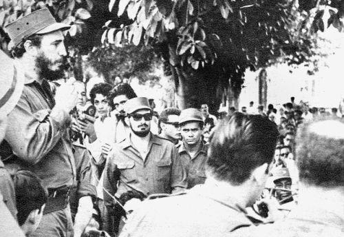 Fidel en Sancti Spíritus. Fidel celebró su primer cumpleaños después de la Revolución dirigiendo personalmente las acciones contra la intentona trujillista por Trinidad.