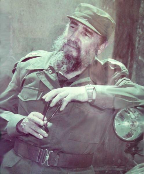 26 de julio de 1986 Fidel en Sancti Spíritus.