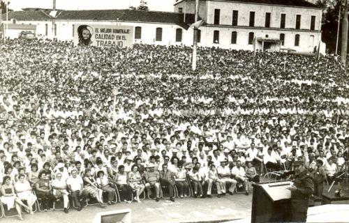 Plaza de la Revolución Mayor General Serafín Sánchez Valdivia.