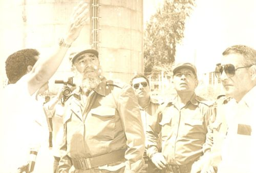 Fidel Castro en Sancti Spíritus
