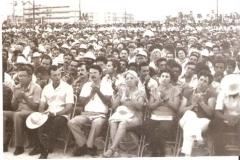 Acto del 26 de julio de 1986 en Sancti Spiritus, con la presencia de Fidel Castro.