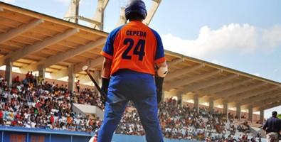 Cepeda sobre el Clásico (Cepeda: quiero seguir luchando y jugando béisbol, alargar mi carrera quizás unos 10 años más. Foto: Raúl Alejandro del Pino Salfrán)