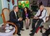 Históricos encuentros con Fidel. Fidel Castro y Ban Ki-moon coincidieron en el imperativo de luchar con medidas concretas por el desarme nuclear y contra los peligros que acechan a la humanidad.