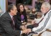 Históricos encuentros con Fidel. El fraternal encuentro entre Fidel y Kenny Davis Anthony fue expresión de las relaciones históricas entre Cuba y Santa Lucía, caracterizadas por un espíritu invariable de colaboración y solidaridad.
