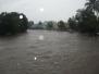 Intensas lluvias sobre el río Yayabo