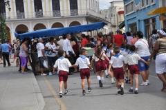 La literatura inunda a Sancti Spíritus. Con variadas propuestas tiene lugar en la ciudad de Sancti Spíritus, el capítulo provincial de la XXV Feria del Libro, Cuba 2016. (Foto: Vicente Brito/ Escambray)