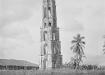 La Trinidad de antaño. Con sus 43.5 metros de altura, la torre de Manaca Iznaga deviene símbolo del Valle de los Ingenios.