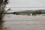 Lo que Irma nos dejó. La zona de FNTA quedó convertida en un gran lago como resultado de las inundaciones provocadas por la crecida del río Agabama. (Foto: Vicente Brito/ Escambray)