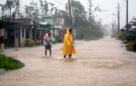 Lo que Irma nos dejó. Las intensas lluvias de Irma dejaron las calles de Yaguajay colmadas de agua. (Foto: Oscar Alfonso/ Escambray)