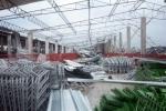 Lo que Irma nos dejó. Las instalaciones del nuevo centro integral porcino de Carbó, quedaron devastadas con el paso de Irma. (Foto: Oscar Alfonso/ Escambray)