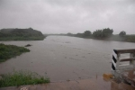 Lo que Irma nos dejó. La crecida del río Zaza llegó a casi 16 metros de altura. (Foto: Vicente Brito/ Escambray)