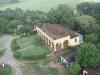 La casa hacienda fue erigida en la primera mitad del siglo XIX en un lugar privilegiado por la brisa.