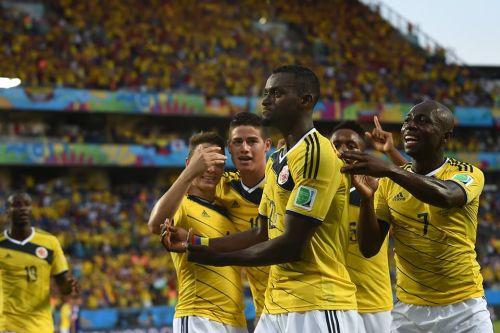 Mundial de fútbol Brasil 2014. Colombia lideró el Grupo C.