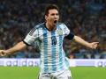 Mundial de fútbol Brasil 2014. Leo Messi dio el triunfo a la Albiceleste ante Bosnia.