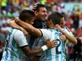 Mundial de fútbol Brasil 2014. Argentina primera del Grupo F con 9 puntos.