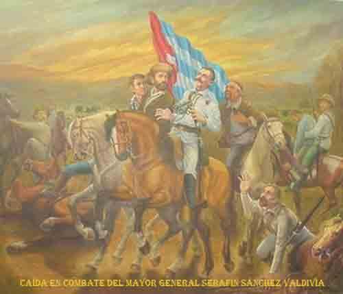 La capacidad aglutinadora del Mayor General Serafín Sánchez Valdivia, su arrojo, ímpetu entre otros valores, le procuran amigos de la talla del Héroe Nacional cubano José Martí, y le convierten junto a los Generales Máximo Gómez y Antonio Maceo en uno de los jefes significativos del Ejército Libertador.