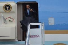 Obama en Cuba. El Presidente estadounidense llegó a Cuba este domingo 19 de marzo en visita oficial. (Foto: ACN)