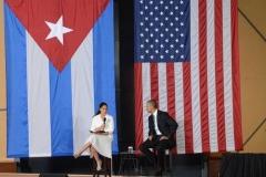 Obama en Cuba. Obama en el foro de negocios Cuba-Estados Unidos. (Foto: ACN)