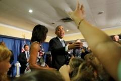 Obama en Cuba. Obama en la embajada de estados Unidos en Cuba. (Foto: Reuters)
