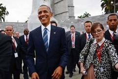 Obama en Cuba. Obama en la Plaza de la Revolución. (Foto: ACN)