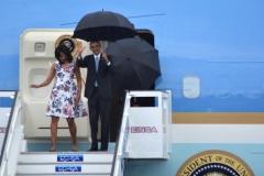 Obama en Cuba. La visita de Obama es la primera de un mandatario de EE.UU. en funciones en 88 años. (Foto: ACN)