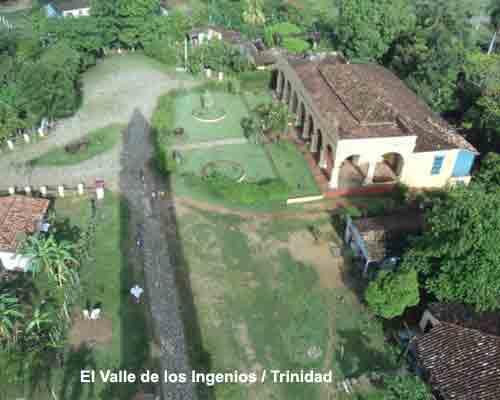 El Valle de los Ingenios quedó inscrito en la Lista de Patrimonio Mundial durante la Duodécima Reunión su Comité, celebrada en Brasilia, Brasil, entre los días 5 y 9 de diciembre de 1988.