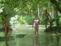 Rancho Querete. Este sitio cuenta con áreas de baño para niños y adultos.