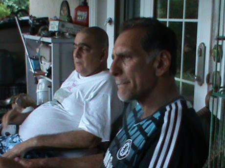 CUBA-LA HABANA-RENE GONZALEZ JUNTO A SU HERMANO ROBERTO DURANTE